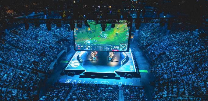 E-sports worden steeds groter