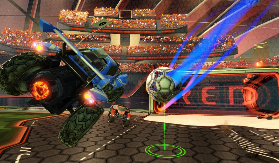 Succes van Rocket League