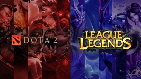 Beginnen met DOTA 2 of League of Legends