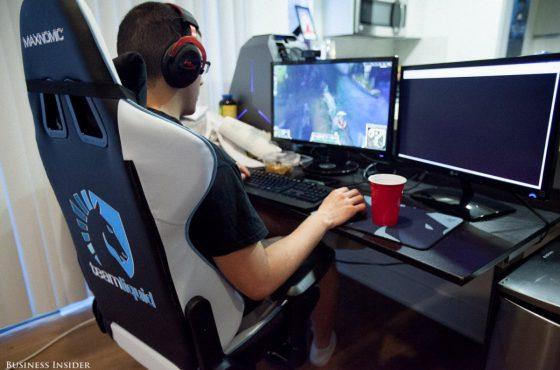 Het leven van een professionele gamer